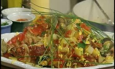 Shellfish Bouillabaisse Stew