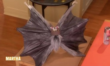 Spooky Umbrella Bat Puppet