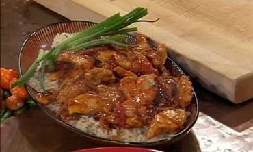 Sweet and Hot Pepper Chicken