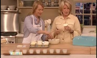 Vanilla Cupcake Presentation