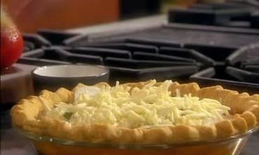Vidalia Onion and Tomato Pie