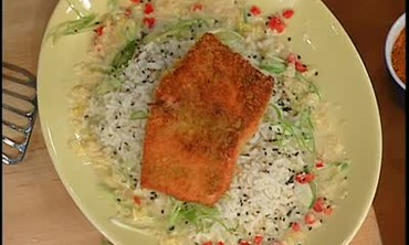 Wasabi-Crusted Salmon, Part 2