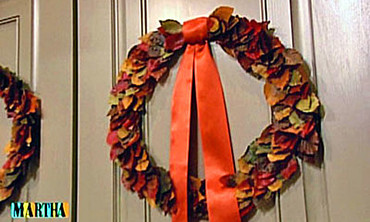 Autumnal Wreath Craft with Comedian Amy Sedaris