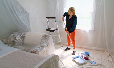 Ask Martha: Painting A Ceiling