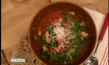 Autumn Minestrone Soup, Part 2