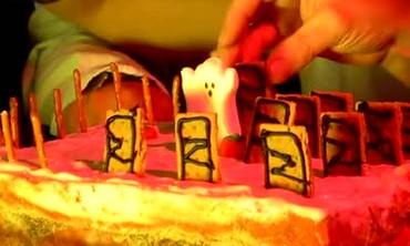 Bleeding Cemetery Cake, Part 1
