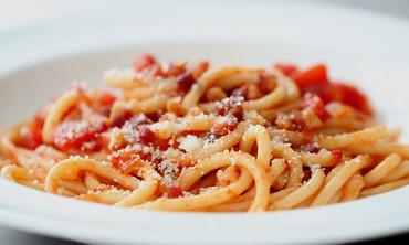 Bucatini with Pancetta Recipe
