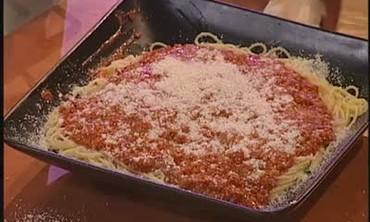 Bacon Spaghetti Bolognese
