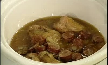 Crock Pot Chicken and Sausage