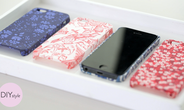 Easy DIY Fabric iPhone Covers