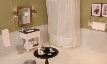 Video Affordable Bathroom Renovation Before And After Martha Stewart - Affordable bathroom renovations