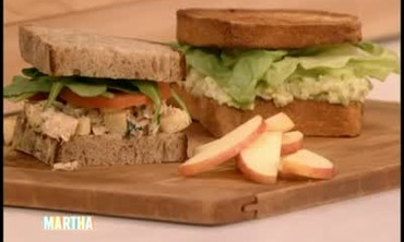 Egg and Tuna Salad Sandwiches