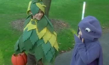 Fleece Tree Halloween Costume