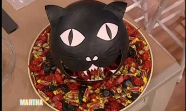 Halloween Cat Candy Dispenser