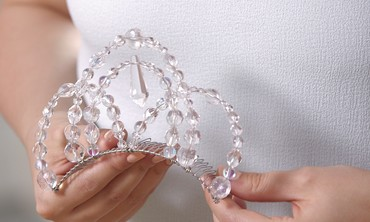 Halloween DIY Ice Queen Tiara