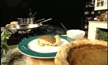 How to Make Peach Custard Pie