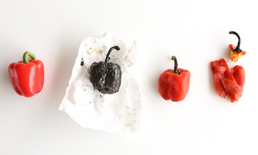 How to Roast and Peel Peppers