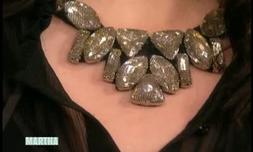 Jeweled  Bib Necklace Tutorial