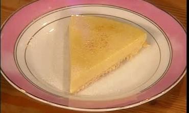 Lemon Tart With Creme Fraiche
