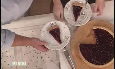Mario Batali's Cherry Jam Tart