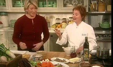 Martha's Favorite Recipe Shows