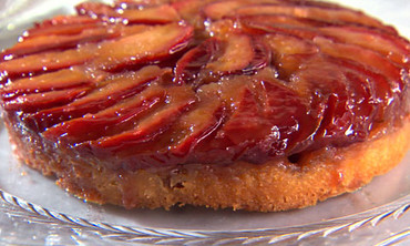 Stone-Fruit Upside-Down Cakes