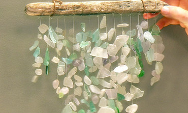 Sea-Glass Mobile