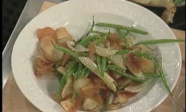 Potato Crisp Green Bean Salad