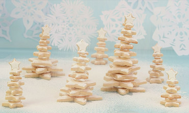 Stacked Christmas Cookie Tree