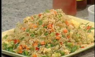 Stir Fried Rice with Leftover