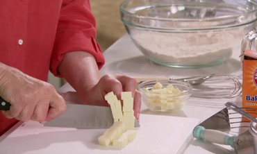 Tip: Cutting Butter for Baking