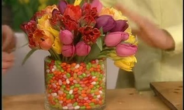 Tulips and Jellybean Bouquets