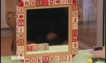 Baby Block Mirror Frame Part 2