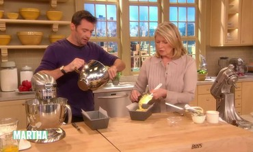Making Banana Bread with Hugh Jackman