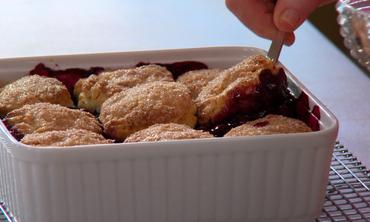 Bonus Recipe: Blueberry Cobbler