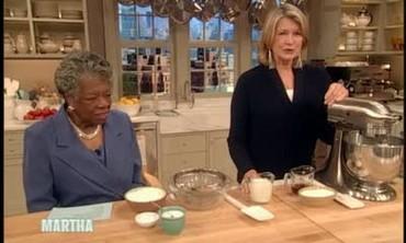 Caramel Cake with Maya Angelou