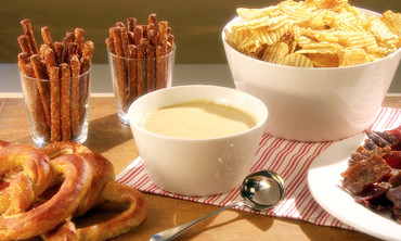 Creamy Cheddar Cheese Beer Dip