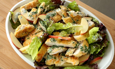 Crispy Chicken and Apple Salad