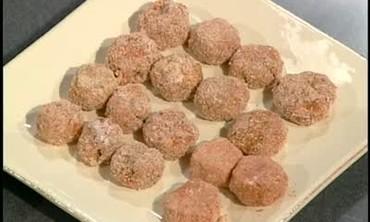 Deep Fried Meatball Appetizers