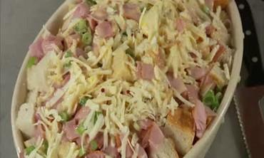 Do Ahead Ham and Cheese Strata