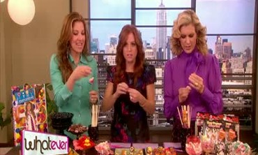 Dylan Lauren and Candy Skewers