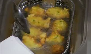 Fried Catfish and Hush Puppies