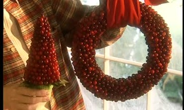 How to Make a Cranberry Wreath