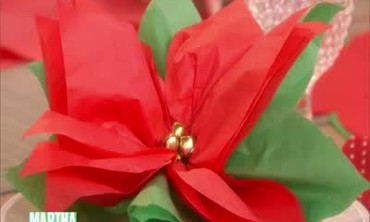 How to Make a Poinsettia Favor