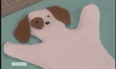 How to Make a Washcloth Puppet