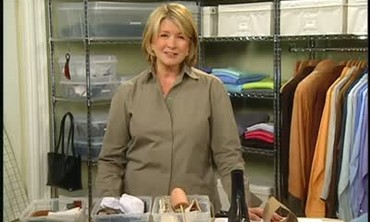 Video Organize Your Linen Closet Martha Stewart