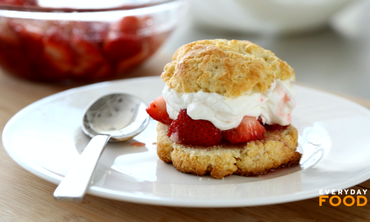 In Season Strawberry Shortcake