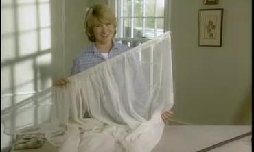 Video How To Hang A Swag Curtain Part 2 Martha Stewart