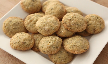 Lemon-Ginger Cookies with Mint