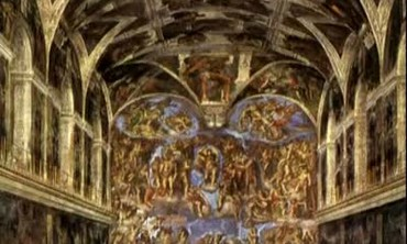 Painting of the Sistine Chapel